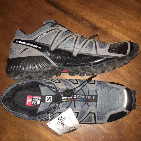 NWT Men's Salomon SpeedCross 4 Shoes NWT